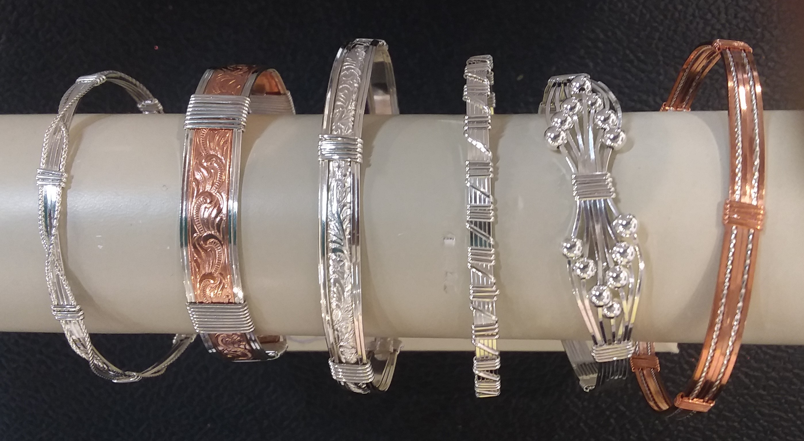 Focus on Fine Art Wire Bracelets!