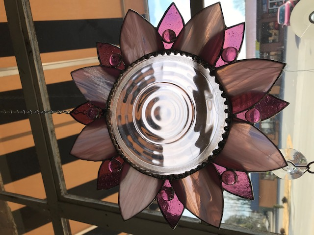 Saucer Flower - Intro to Stained Glass